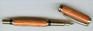 Baron II - Fountain Pen Titanium Gold
