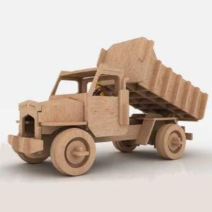 Tip Truck 3D puzzle in MDF