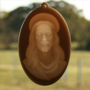 Window lithophane - Jesus