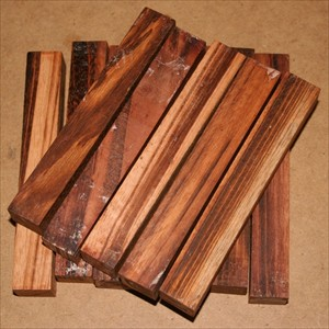 Tigerwood Goncalo Alves pen blanks