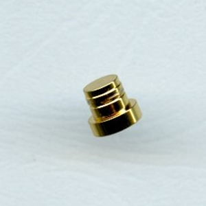 Fancy Slimline end cap - gold