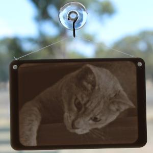 Custom window lithophane from your photo (small)