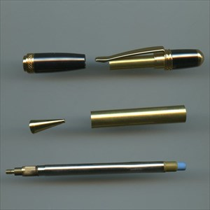 Sierra pencil kits - gold and gun metal/dark chrome